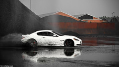 GranturismoS Drifting i. (Denniske) Tags: white canon photography eos is photoshoot belgium belgique 05 belgi july s automotive 09 l antwerp mm dennis blanche 5th wit weiss bianco 70200 2009 f28 supercar ef v8 antwerpen maserati 07 anvers granturismo fotoshoot noten lseries llens 40d denniske dennisnotencom wwwdennisnotencom