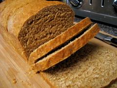 whole wheat molasses bread