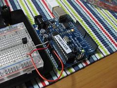 Arduino + Temp. Sensor