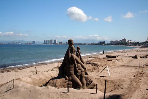 Sand Sculptures - Puerto Vallarta