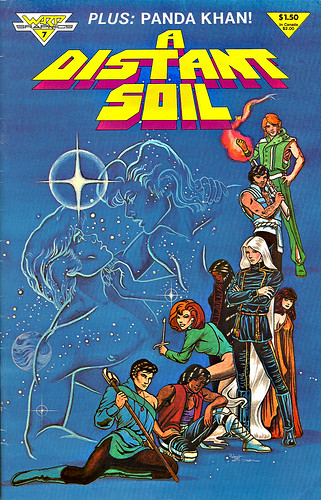 """A Distant Soil"" #7 WaRP Graphics { Contains an early portion of the P.K. Mini-series edited by Richard Pini }   (( September 1985 ))"