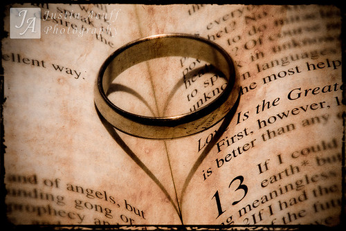The Ring Bible Heart Shot by j acuff