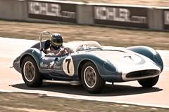 Meister Brauser Scarab #1 (William 74) Tags: classiccar roadamerica oldcar rai sportscar racingcar scarab vintageracing historicracing meisterbrauser reventlow augiepabst