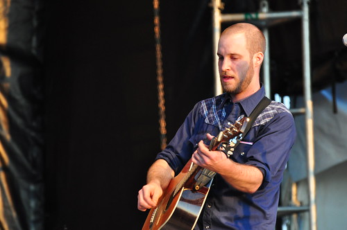 Brock Zeman at Ottawa Bluesfest 2009