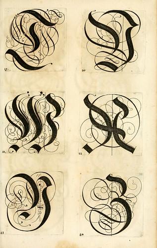 011--Kunstrichtige Schreibart  allerhand Versalie..Paul Frank 1655