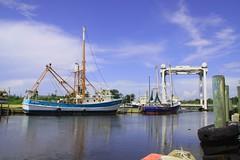 Shrimpboats In Bayou La Batre (mainsheet99) Tags: work boats alabama shrimp pleasure bayoulabatre