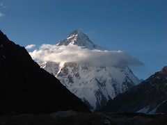 K2-Gondogoro La Trek-Pakistan (mikemellinger) Tags: pakistan sun snow beauty trekking trek landscape scenery hiking glacier 2nd summit concordia k2 northernareas range basecamp highest karakorum baltoro baltistan gondogorola karakorums