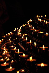 Candles of Prayer (Werner Kunz) Tags: trip travel light vacation holiday black church yellow germany deutschland nikon europe candle god dom urlaub mary prayer jesus german need 40 wish freiburg deutsch werner reise catherdal kunz 20fav explored nikond90 werkunz1