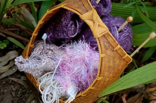 basket of knits