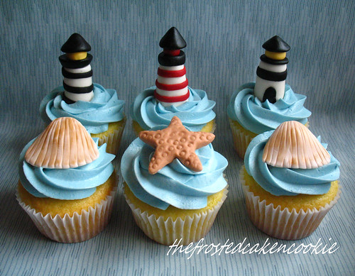 Tuesday Toppers: Lighthouse Cupcakes