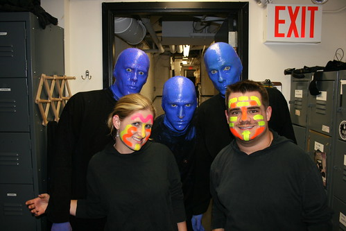 September 4th, Blue Man Group