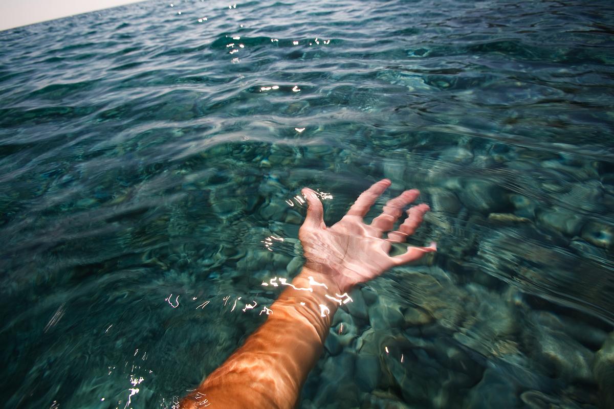 blue, sea