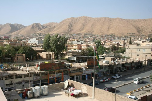 View of Dohuk from the top of a local building, August 2009