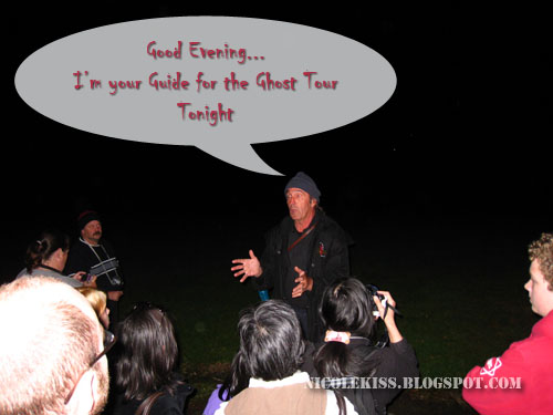ghost tour at port arthur