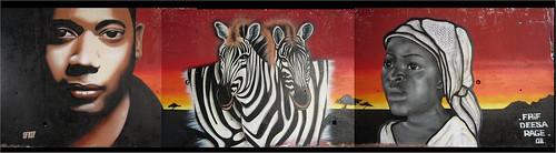 mural afrika