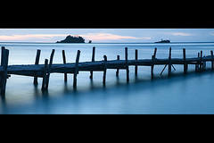 Togian II (elosoenpersona) Tags: sunset indonesia island atardecer islands bay long exposure harbour retreat sulawesi togean tamini togian elosoenpersona