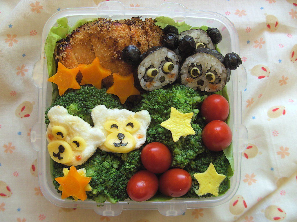 panda obento