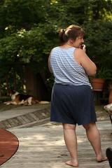 Dog Photo Shoot IMG_4174 (SunCat) Tags: travel woman pool friend louisiana girlfriend all photographer bbw spouse deck wife debbie sweetheart lover mate companion 2009 ruston soulmate braless confidante so wafercreekranch