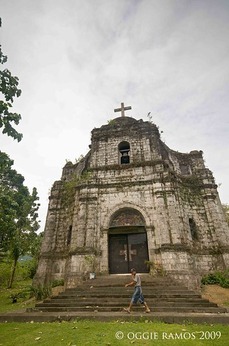 catanduanes bato church wide angle