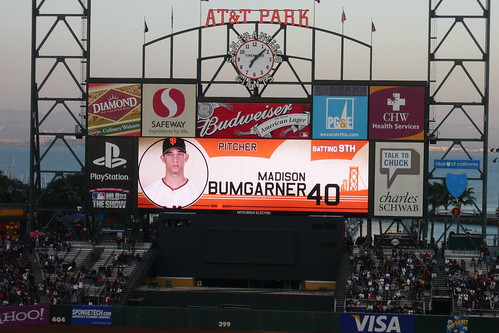 Bumbarner on the big screen