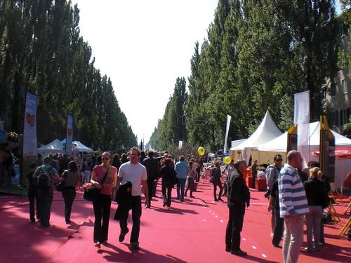 Уличный фестиваль в Швабинге