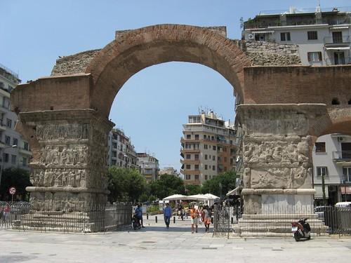 Arco de Galerius, Salónica, Grécia