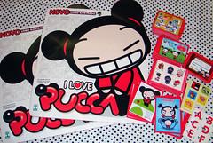 Promoo no I Love Pucca.org (MaryPhotos) Tags: pucca lbum figurinhas