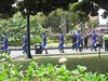 Presidential guards marching in Qu…