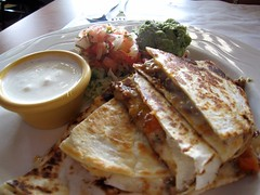 zapata - quesadilla with picadillo