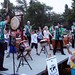 St. Louis Osuwa Taiko give an after-concert class to kids from the audience