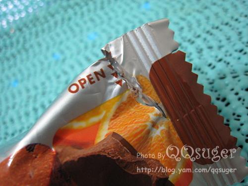 你拍攝的 SOYJOY柳橙巧克力包裝2。