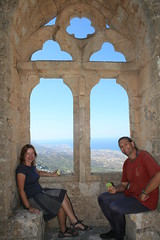 Snacking At St Hilarion Castle