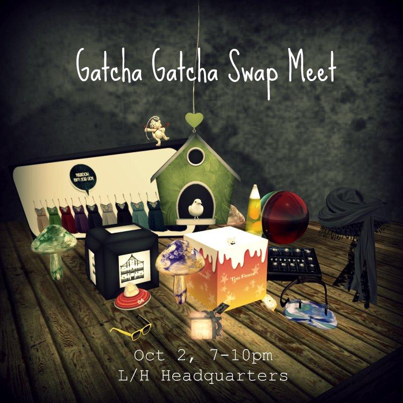 Gatcha Gatcha swap poster
