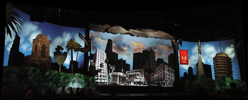 Adobe MAX 2009 stage