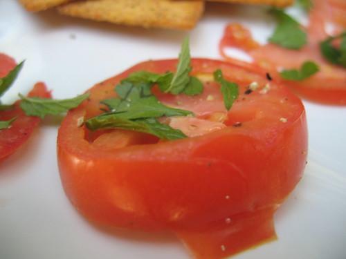 Tomato Basil Tapas