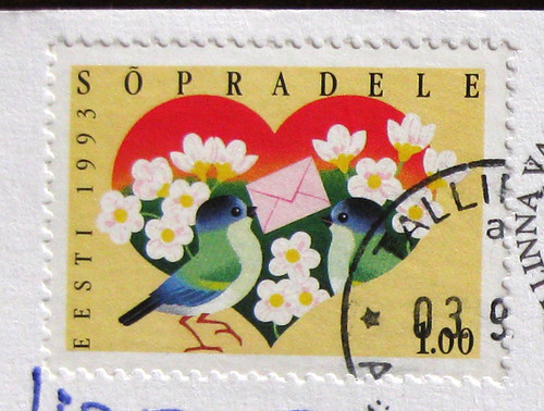 Exquisite Estonian stamp