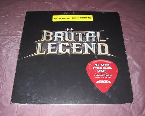 Brütal Legend LP Sleeve