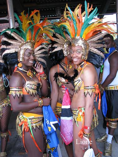 west indian carnival Brooklyn New Yor USA 3606