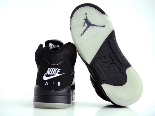 6122f98ddb7 Sunshining7 - Nike air Jordan V (5) - Retro 1999 - Black Fired Red