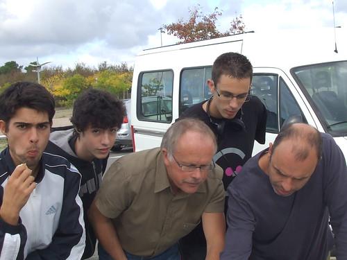Charles Eric BERNARD, Alfred GAUDIN,Romain DUFOUR,Philippe CATROUILLET,Clément BEDOUET, Charly BERNARD,