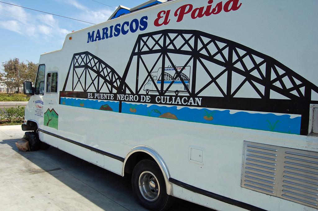 Mariscos El Paisa Truck San Diego