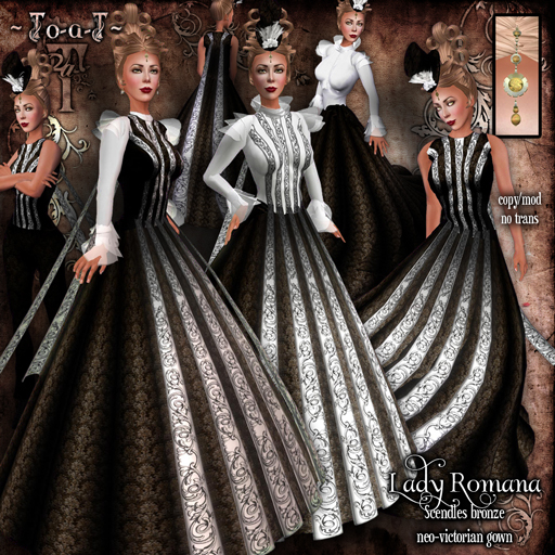 Lady-Romana-ScendlesBronze-Disp