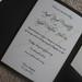 "Black & Champagne Custom Wedding Invitation Pocketfold 5x7 <a style=""margin-left:10px; font-size:0.8em;"" href=""http://www.flickr.com/photos/37714476@N03/4026676571/"" target=""_blank"">@flickr</a>"