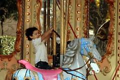 principe azzurro (tempesta) Tags: boy horse fun child joy prince merrygoround giostra cavallo bambino principe carosello