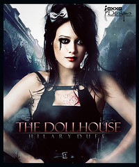 Hilary Duff // The Doll House (Joxxo.Designs) Tags: girls music sexy halloween dark de cool holidays punk day 10 top emo hilary fiestas dia adobe elite fans duff dollhouse muerto cs4