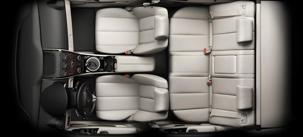 Mazda CX-7 Triple-H cabin