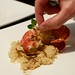 Preparing sous vide butter-poached lobster tails