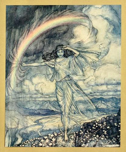 001-Comus de John Milton-ilustrada por Rackham 1921