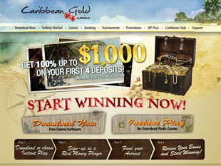 Caribbean Gold Casino Home