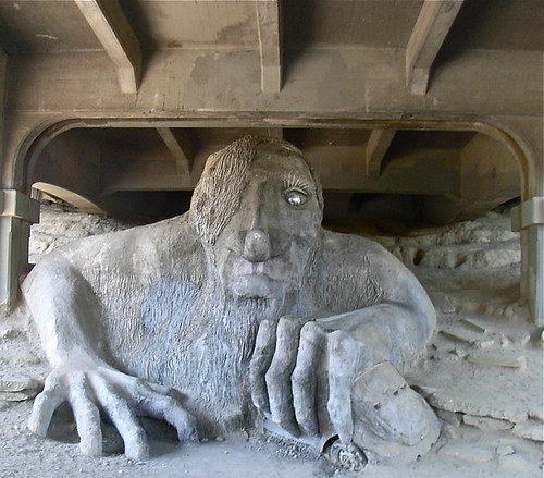 Troll Under Bridge (Seattle, WA)